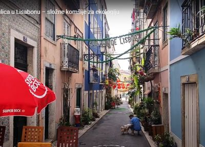 Green Street in Lisbon: neighbours united for the environment