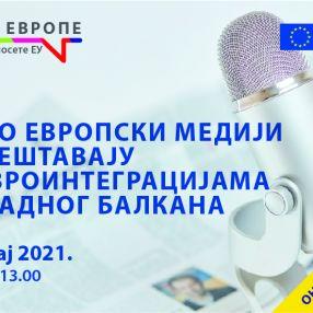 Online debate European media and the Western Balkans